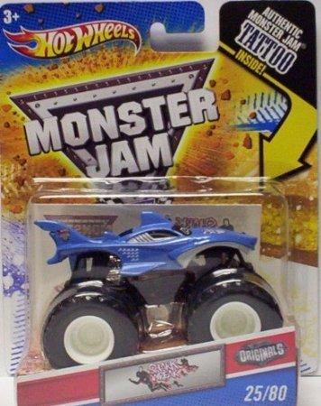 2011 Hot Wheels Monster Jam 2580 SHARK WREAK 164 Scale Collectible Truck with Monster Jam TATTOO