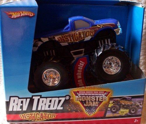 Hot Wheels Monster JamChrome Maximum Destruction Rev Tredz Official Monster Truck Series 143 Scale Collectible Truck