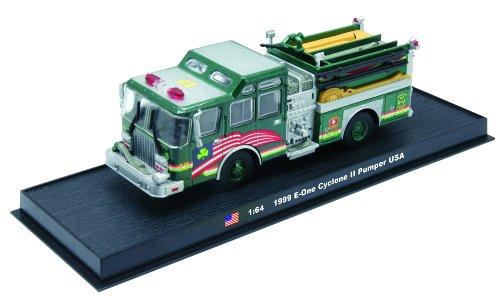 E-One Cyclone II Pumper Fire Truck Diecast 164 Model Amercom GB-14