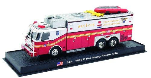 E-one Heavy Rescue Fire Truck Diecast 164 Model Amercom GB-4