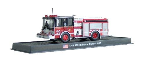 Luverne Pumper Fire Truck Diecast 164 Model Amercom GB-17