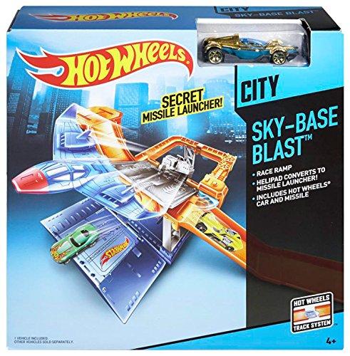 Hot Wheels Sky-Base Blast Track Set