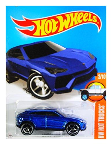 Hot Wheels 2016 HW Hot Trucks Lamborghini Urus Blue 142250