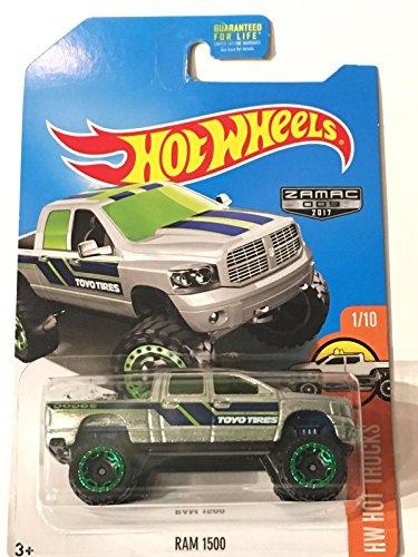 Hot Wheels 2017 HW Hot Trucks Dodge Ram 1500 Exclusive ZAMAC