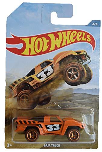 Hot Wheels Baja Truck 46 Orange