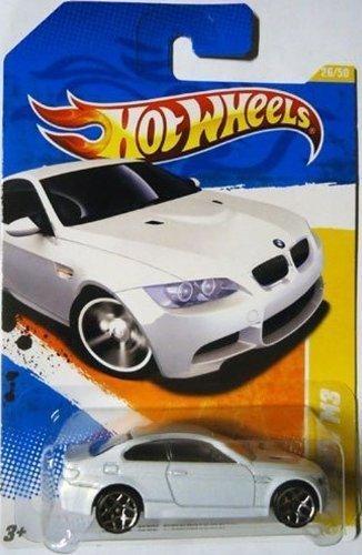 2011 Hot Wheels 10 BMW M3 HW PREMIERE 26 of 50 26 WHITE