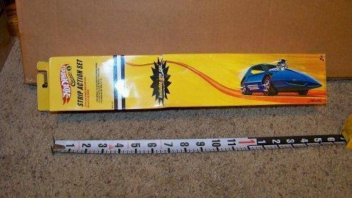 Hot Wheels Classics Strip Action Set Hotwheels 10 Feet Track One Car w California Custon Styling NOS