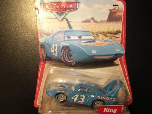 Disney Pixar Cars King 155 Scale Mattel Diecast Original Desert Background Card