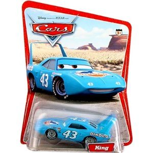 Disney Pixar Cars King 155 Scale Mattel Diecast Original Desert Background Card 12 Cars on Back with Correctly Spelled Fillmore Edition
