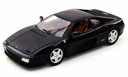 Ferrari 348 TB Black - Mattel Hot Wheels X5530 - 118 Scale Diecast Model Toy Car