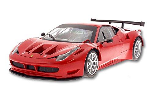 Ferrari 458 Italia GT2 - Rosso Corsa Red - Mattel Hot Wheels BCJ77 - 118 Scale Diecast Model Toy Car