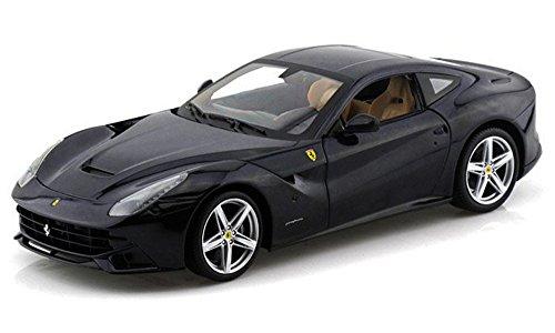 Ferrari F12 Berlinetta Blue - Mattel Hot Wheels BCJ73 - 118 Scale Diecast Model Toy Car