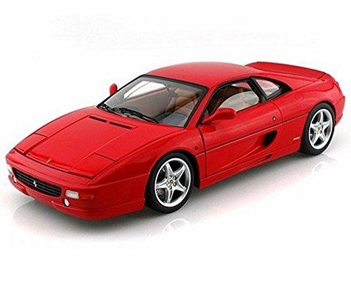 Ferrari F355 Berlinetta Red - Mattel Hot Wheels BLY57 - 118 Scale Diecast Model Toy Car