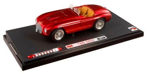 Mattel Diecast Hotwheels - Ferrari 166 Barchetta 118Th Matt Red by Kyosho