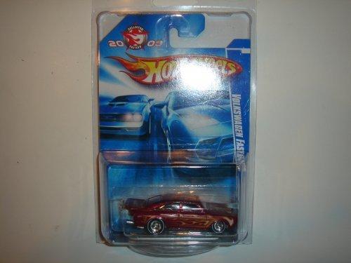 2009 Hot Wheels Collector Edition Mail-In Volkswagen Fastback Dark Red