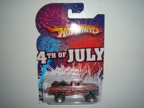 2010 Hot Wheels 4th of July Texas Drive Em Bronze