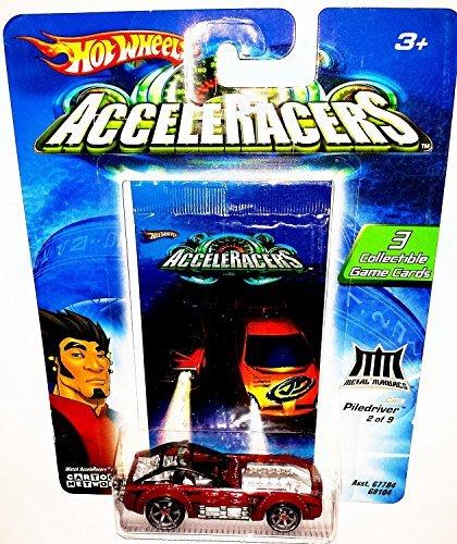 Hot Wheels AcceleRacers Metal Maniacs 7 of 9 Piledriver