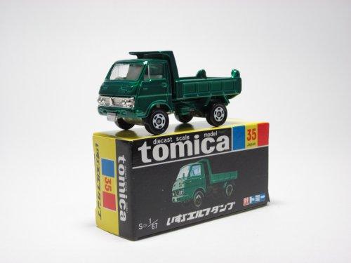 Tomica diecast scale model tomica black box 35 Isuzu Elf dump S  154 japan import