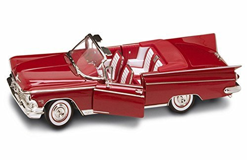 1959 Buick Electra 225 Convertible Red - Road Signature 92598 - 118 Scale Diecast Model Toy Car by Road Signature