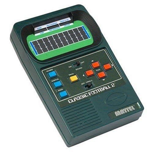 Mattel Classic Football 2 Handheld Electronic Game 2002