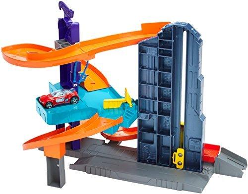 Hot Wheels Workshop Track Builder Speedtropolis Track Set Gift Pack Car Toys