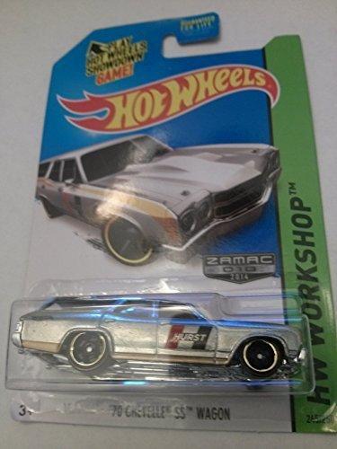 Hot Wheels Workshop Zamac 010 2014 70 Chevelle SS Wagon 245250