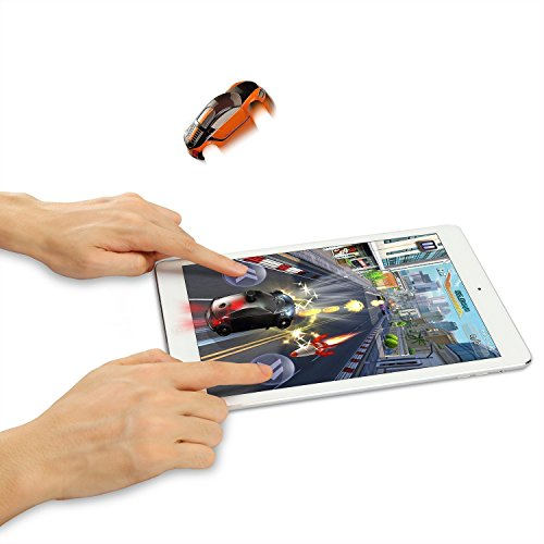 SainSmart Jr 3D Pocket-sized Racing Car for Tablet Smart Interactive Virtual Game for iPad Android Tablet with Shining Vibration Jumping Feeling
