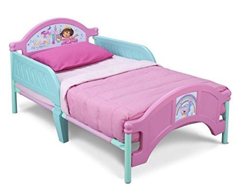 Delta Children Plastic Toddler Bed Nick Jr Dora The Explorer