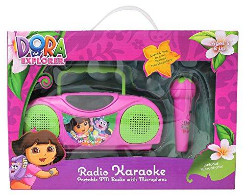 Dora The Explorer Radio Karaoke Kits