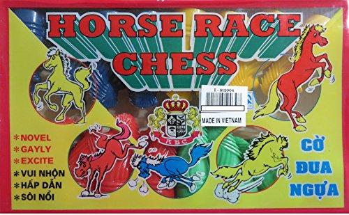 Horse Race Chess  Co Dua Ngua Vietnamese Fun Game