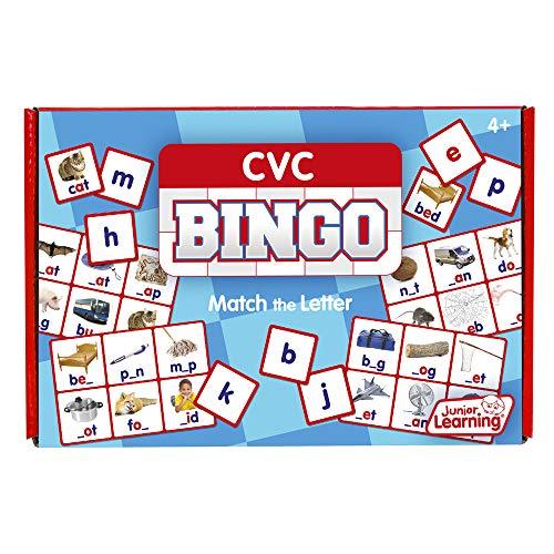 Junior Learning CVC Bingo Educational Action Games