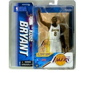 Kobe Bryant Special Edition 22 Jan 2006 81 Point Game White Uniform Los Angeles Lakers McFarlane NBA Series 11 Action Figure