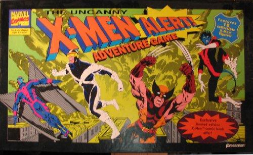 The Uncanny X-Men Alert Adventure Game Features 18 Collectible X-Men Figures by PRESSMAN-MARVEL COMICS