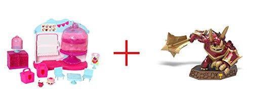Shopkins Cupcake Queen Cafe and Legendary Tri-Tip Sensei Skylanders Imaginators Series - Bundle