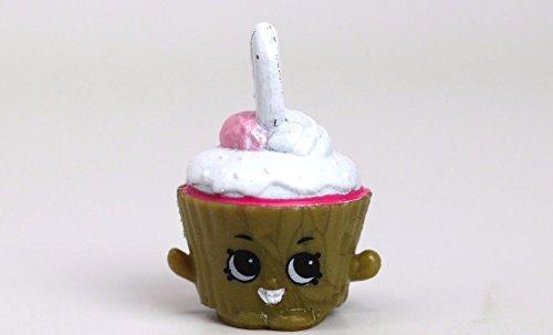 Shopkins Season 5 5-123 Cupcake Chic Charm Metallic Version