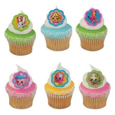 ShopkinsTM I Love ShopkinsTM Cupcake Rings - 24 ct