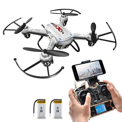 Potensic F186WH Hover RC Drone RTF Altitude Hold Mini Quadcopter UFO with 2MP WiFi CameraWhite