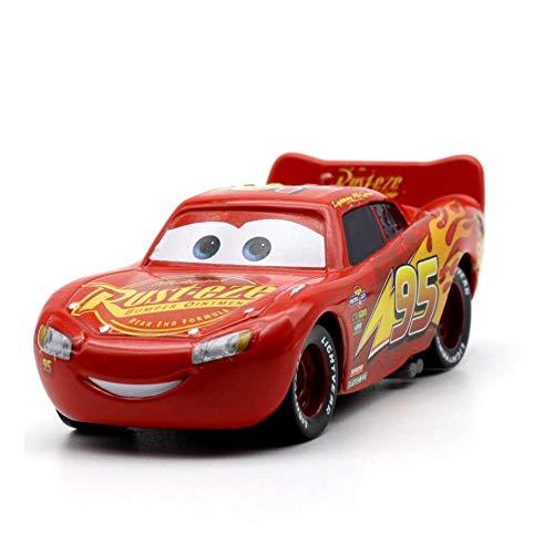Disney 26 Style Disney Pixar Cars 3 2018 Fabulous Lighting McQueen Cruz Ramirez Metal Alloy Car Model Kid Christmas Toy Gift 12