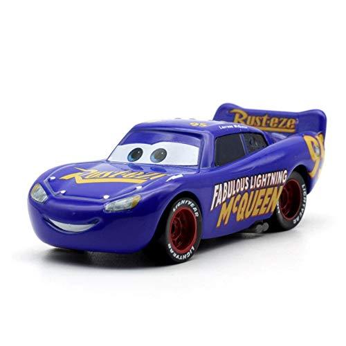 Disney 26 Style Disney Pixar Cars 3 2018 Fabulous Lighting McQueen Cruz Ramirez Metal Alloy Car Model Kid Christmas Toy Gift 13