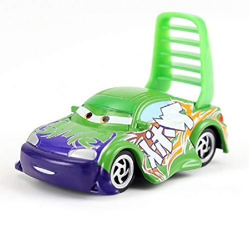 Disney Cars Disney Pixar Cars 3 2 Roles Storm Jackson Lighting McQueen Miss Fritter Cruz Ramirez Metal Car Toys Boy Birthdays Gift 17