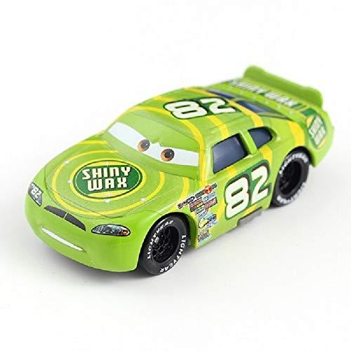 Disney Cars Disney Pixar Cars 3 2 Roles Storm Jackson Lighting McQueen Miss Fritter Cruz Ramirez Metal Car Toys Boy Birthdays Gift 8