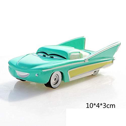 Disney Disney Pixar Cars 2 3 Fabulous Lighting McQueen Jackson Storm Cruz Ramirez Metal Alloy Car Model Kid Christmas Toy Gift Flo