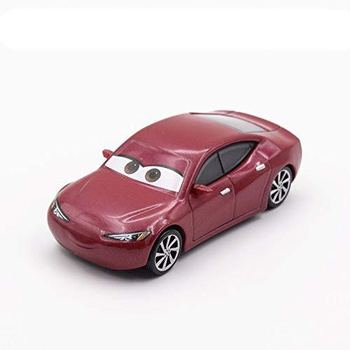 Disney Disney Pixar Cars 3 Metal Car Toy Storm Jackson Lighting McQueen Mack Truck Golden Curz Toy Vehicles Kid Christmas Birthday Gift 19