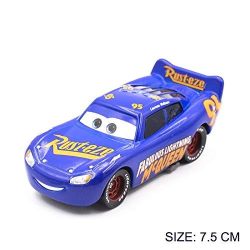 Disney Disney Pixar Cars 3 Metal Car Toy Storm Jackson Lighting McQueen Mack Truck Golden Curz Toy Vehicles Kid Christmas Birthday Gift 6