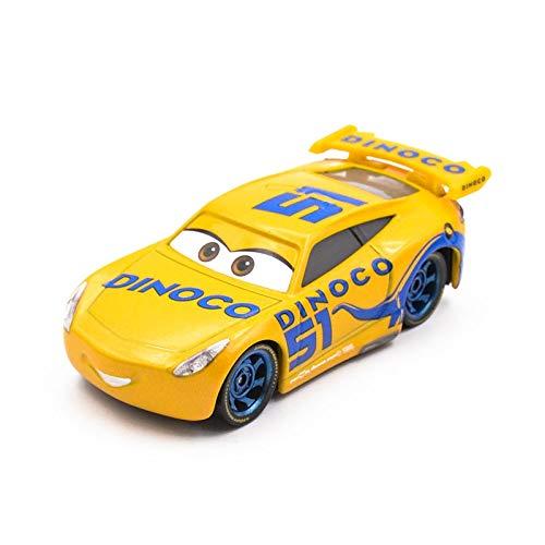 Disney Disney Pixar Cars 3 Tutor Smokey Car Toy Lighting McQueen 19 Daniel Swervez Metal Carro Juguete Children Birthdays Gift 6