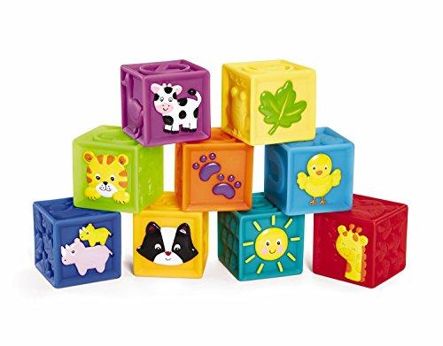 Earlyears Squeak n Stack Blocks Baby Toy