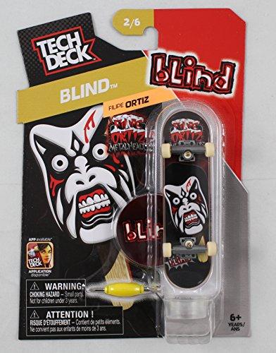 1 TECH DECK 96mm FINGERBOARD - BLIND BOARD Blind 26 - New