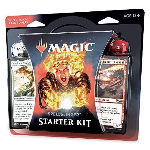 Magic The Gathering Spellslinger Starter Kit Core Set 2020 M20  2 Starter Decks  2 Dice  2 Learn to Play Guides