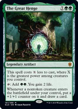 Magic The Gathering - The Great Henge - Throne of Eldraine