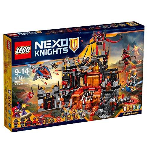 LEGO 70323 Nexo Knights Jestros Volcano Lair Construction Set